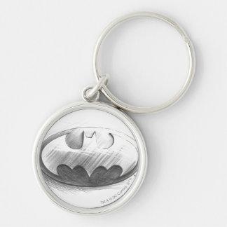 Batman Symbol | Insignia Drawing Logo Keychain