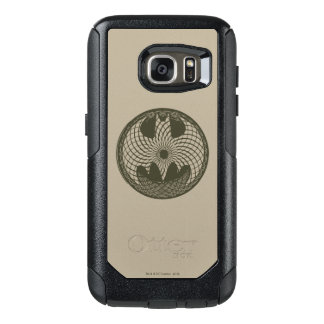 Batman Symbol   Nouveau Circle Logo OtterBox Samsung Galaxy S7 Case