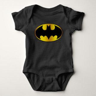 Batman Symbol | Oval Gradient Logo Baby Bodysuit