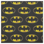 Batman Symbol | Oval Gradient Logo Fabric