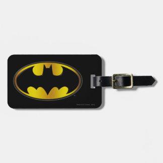 Batman Symbol | Oval Gradient Logo Luggage Tag