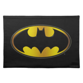 Batman Symbol | Oval Gradient Logo Placemat