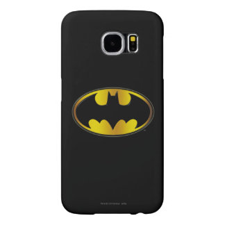 Batman Symbol | Oval Gradient Logo Samsung Galaxy S6 Case