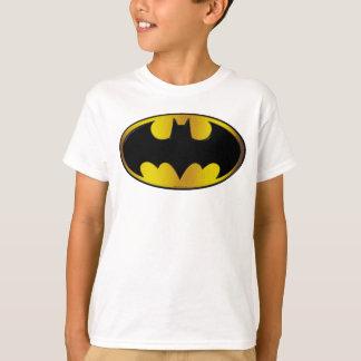 Batman Symbol   Oval Gradient Logo T-Shirt