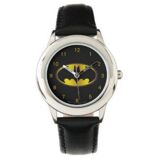Batman Symbol | Oval Gradient Logo Watch
