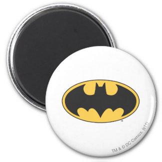 Batman Symbol | Oval Logo 2 Inch Round Magnet