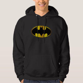 Batman Symbol   Oval Logo Gradient Sweatshirts