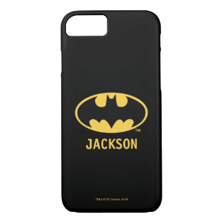 Batman Symbol | Oval Logo iPhone 7 Case