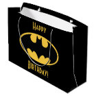 Batman Symbol | Oval Logo Large Gift Bag
