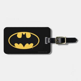 Batman Symbol | Oval Logo Luggage Tag