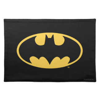 Batman Symbol | Oval Logo Place Mat