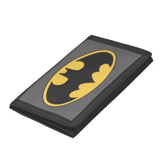Batman Symbol | Oval Logo Trifold Wallets