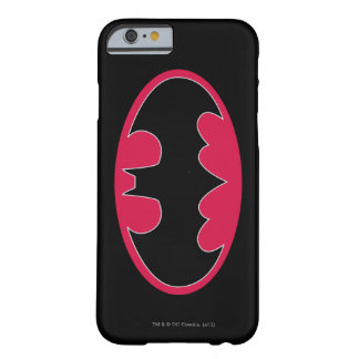 Batman Symbol | Red Black Logo Barely There iPhone 6 Case