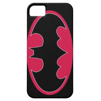 Batman Symbol | Red Black Logo iPhone 5 Case
