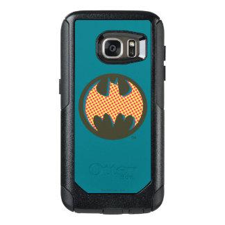 Batman Symbol   Red Halftone Logo OtterBox Samsung Galaxy S7 Case
