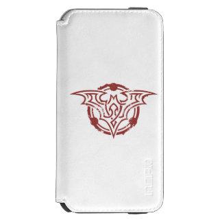 Batman Symbol | Red Outline Urban Logo Incipio Watson™ iPhone 6 Wallet Case