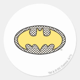 Batman Symbol | Showtime Logo Classic Round Sticker