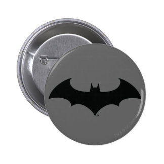Batman Symbol | Simple Bat Silhouette Logo 2 Inch Round Button