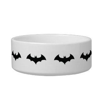 Batman Symbol | Simple Bat Silhouette Logo Pet Food Bowls
