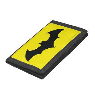 Batman Symbol | Simple Bat Silhouette Logo Tri-fold Wallet