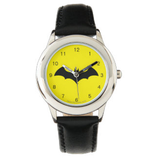 Batman Symbol   Simple Bat Silhouette Logo Watch