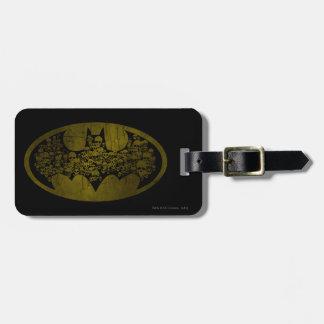 Batman Symbol | Skulls in Bat Logo Luggage Tag