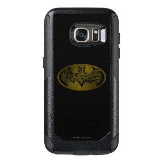 Batman Symbol   Skulls in Bat Logo OtterBox Samsung Galaxy S7 Case