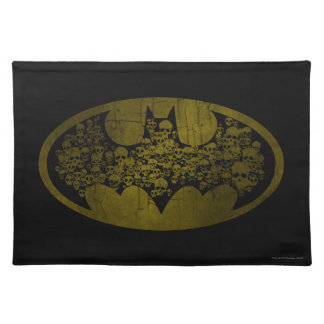 Batman Symbol | Skulls in Bat Logo Place Mats