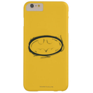Batman Symbol   Spray Faded Logo Barely There iPhone 6 Plus Case