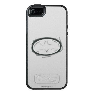 Batman Symbol | Spray Faded Logo OtterBox iPhone 5/5s/SE Case