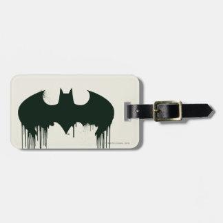 Batman Symbol | Spraypaint Logo Luggage Tag