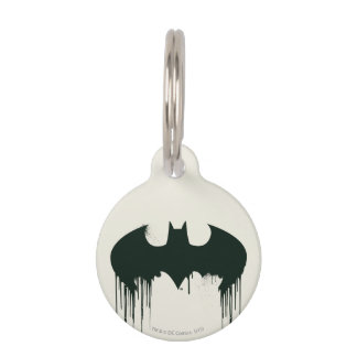 Batman Symbol | Spraypaint Logo Pet Tag