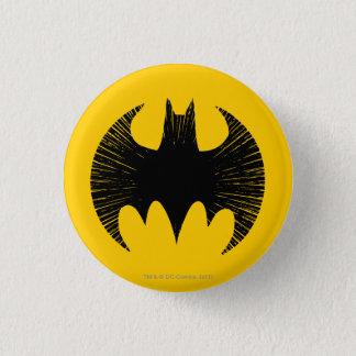 Batman Symbol | Streak Logo 1 Inch Round Button