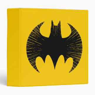 Batman Symbol | Streak Logo Vinyl Binders