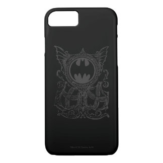 Batman Symbol | Urban Legends Black White Logo iPhone 8/7 Case