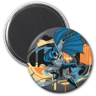 Batman Throw 2 Inch Round Magnet