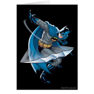 Batman Throwing Star Card