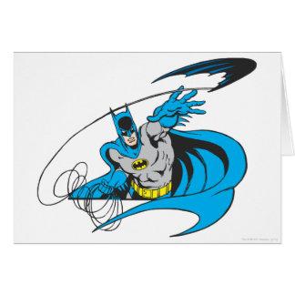 Batman Throws Batarang 3 Card
