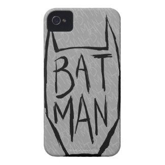 Batman Type in Head iPhone 4 Covers