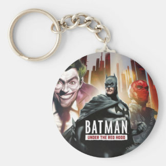 Batman Under The Red Hood Keychain