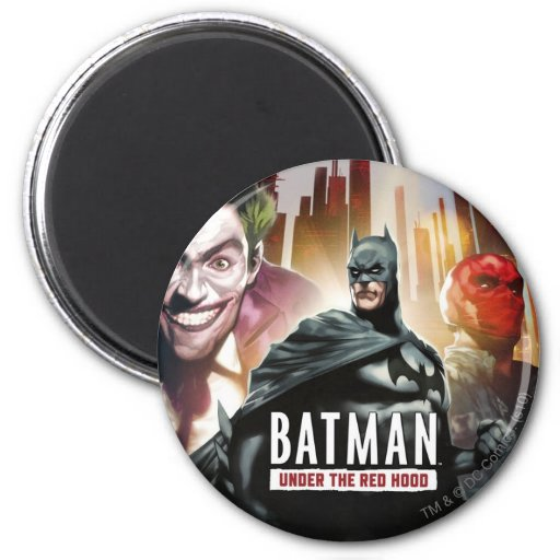 Batman Under The Red Hood Fridge Magnet