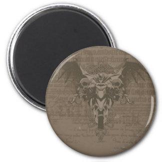Batman Urban Legends - Batman Calligraphy 2 Inch Round Magnet