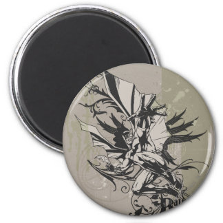 Batman Urban Legends - Batman Reaching Forward 2 Inch Round Magnet
