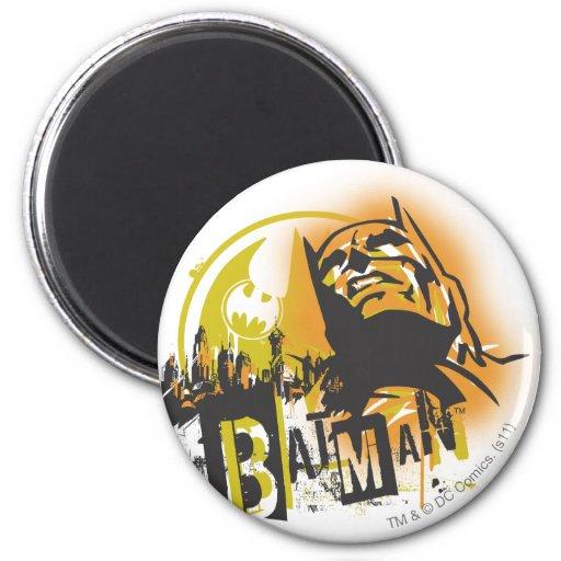 Batman Urban Legends - Batman Stencil Fridge Magnets