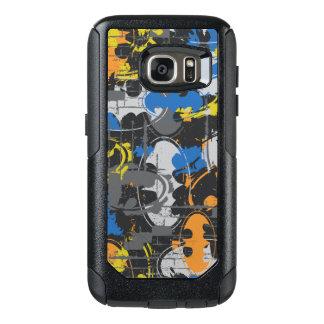 Batman Urban Legends - Grunge Logo Blue/Orange OtterBox Samsung Galaxy S7 Case