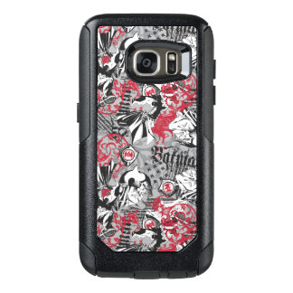 Batman Urban Legends - Head Pattern Red/Black OtterBox Samsung Galaxy S7 Case