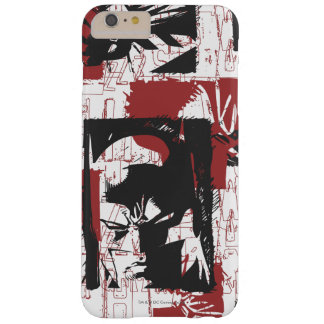 Batman Urban Legends - Mask & Fist Stamp Red Barely There iPhone 6 Plus Case
