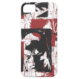 Batman Urban Legends - Mask & Fist Stamp Red Case For The iPhone 5