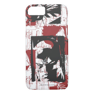Batman Urban Legends - Mask & Fist Stamp Red iPhone 7 Case