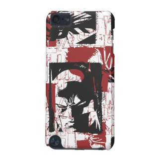 Batman Urban Legends - Mask & Fist Stamp Red iPod Touch (5th Generation) Case